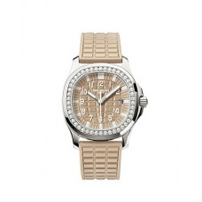 Patek Philippe Aquanaut Luce Honey Beige Senoras Reloj 5067A-020