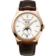 Patek Philippe Complications Annual Calendal 18kt Oro rosa Automatico hombres Reloj 5396R-011