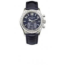 Patek Philippe Complications Automatico Chronograph Platinum hombres Reloj 5961P
