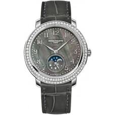 Patek Philippe Complications negro Madre perla Marcar Diamante Senoras Reloj 4968G-001