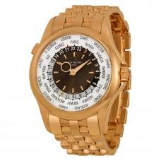 Patek Philippe Complications esfera marron 18kt Oro rosa Automatico hombres Reloj 5130-1R-011