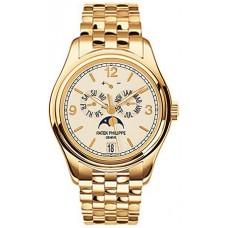Patek Philippe Complications Mechanical Ivory esfera hombres Reloj 5146/1J-001
