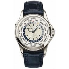 Patek Philippe Complications Mechanical plata Cuero hombres Reloj 5130G-019