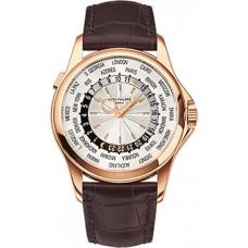 Patek Philippe Complications Mechanical plata Cuero hombres Reloj 5130R-018