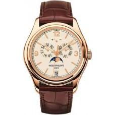 Patek Philippe Complications Moonphase Automatico 18k Oro rosa hombres Reloj 5146R
