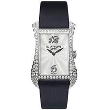 Patek Philippe Gondolo Serata 18kt Oro blanco Diamante Senoras Reloj 4973G