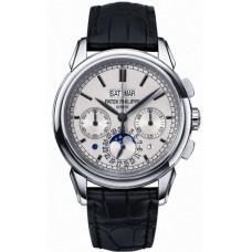 Patek Philippe Grand Complication plata Chronograph 18kt Oro blanco hombres Reloj 5270G-001