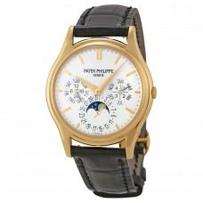 Patek Philippe Grand Complication esfera blanca 18kt Oro amarillo hombres Reloj 5140J-001