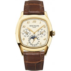 Patek Philippe Grand Complications Mechanical Cream Marcar hombres Reloj 5940J-001