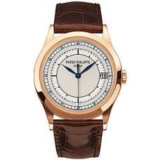 Patek Philippe Calatrava 18k Oro rosa hombres Reloj 5296R-001