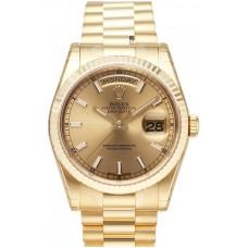 Rolex Day-Date reloj de replicas 118238-4