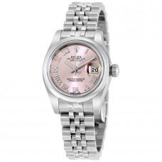 Réplicas Rolex Lady Datejust 279161CHSO Pink Dial Jubileo Reloj automático RLX179160PRJ