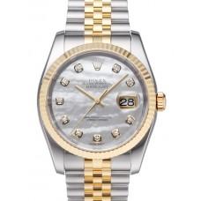 Rolex Datejust reloj de replicas 116233-12