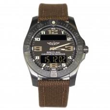 Réplicas Breitling Professional Cuarzo Negro Titanio Negro Dial hombres V7936310/BD60/108W/M20DSA.1s