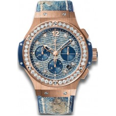 Hublot Big Bang Jeans Gold Diamonds 341.PL.2780.NR.1204.JEANS Réplicas