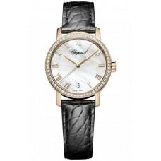 Replicas Reloj Chopard hombres Classic 18-Karat Rose Gold 134200-5001