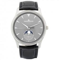 Réplica Jaeger LeCoultre Master Ultra Thin Moon Oro blanco Automatico Hombres Reloj