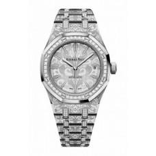 Réplica Audemars Piguet Royal Oak Selfwinding Oro blanco & Diamantes Reloj