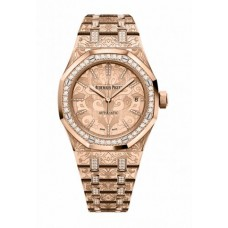 Réplica Audemars Piguet Royal Oak Selfwinding Rosa oro & Diamantes Reloj