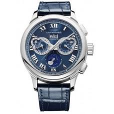 Réplica Chopard L.U.C Perpetual Chrono Platinum & 18K Oro blanco Hombres Reloj