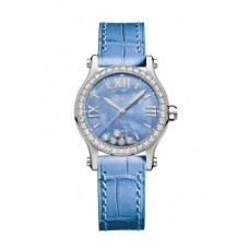 Réplica Chopard Happy Spot Acero inoxidable Madre perla&Diamantes Reloj