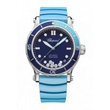 Réplica Chopard Happy Ocean Acero inoxidable & Diamantes Reloj de senoras