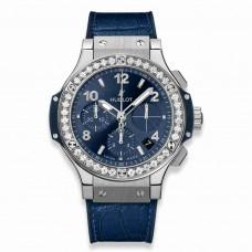 Réplica Hublot Big Bang Acero Azul Diamantes 41mm