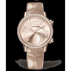 Réplica Jaeger-LeCoultre 3522420 Rendez-Vous Moon Medium Oro rosado/Diamante/Gilt