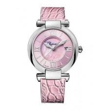 Réplica Chopard Imperiale La Vie En Rosa Acero inoxidable & Amethyst Reloj de senoras