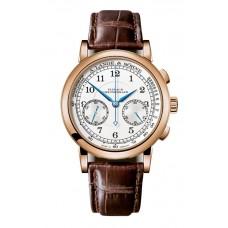 Réplica A. Lange & Sohne 414.032 1815 Cronografo Oro rosado/Negro/Pulsometer