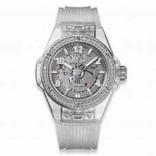 Réplica Hublot Big Bang One Click Sapphire Diamantes 39mm