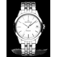 Réplica Jaeger LeCoultre Geophysic True Second Automatico plata Dial Hombres Reloj