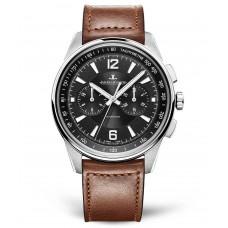 Réplica Jaeger-LeCoultre 9028471 Polaris Cronografo Acero inoxidable/Negro/Calf