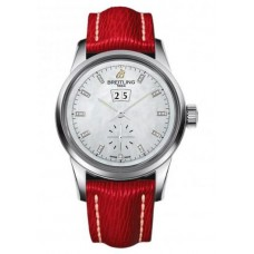 Réplica Breitling Transocean 38 Acero inoxidable Reloj
