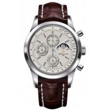 Réplica Breitling Transocean Cronografo 1461 Acero inoxidable Reloj