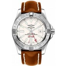 Réplica Breitling Avenger II GMT Automatico plata Dial Hombres Reloj