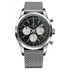 Réplica Breitling Transocean Cronografo Acero Reloj