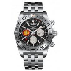 Réplica Breitling Chronomat 44 GMT 50th Anniversary Patrouille Suisse Acero inoxidable Reloj