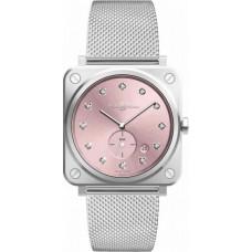 Réplica Bell & Ross BR S Novarosa Diamantes Quartz Reloj
