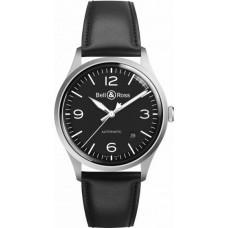Réplica Bell & Ross Vintage BR V1-92 Negro Acero Reloj