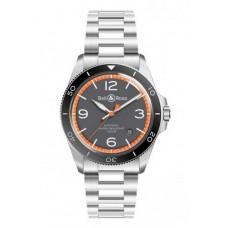 Réplica Bell & Ross Vintage BR V2-92 Garde Cotes hombre Reloj
