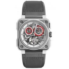 Réplica Bell & Ross BR-X1 Tourbillon Blanco Hawk Reloj