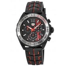 Réplica Tag Heuer Formula 1 Negro Opalin Dial Hombres Cronografo Reloj CAZ1019.FT8027