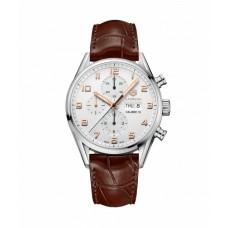 Réplica Tag Heuer Carrera Calibre 16 Automatico Cronografo 43mm hombre Reloj CV2A1AC.FC6380