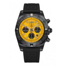Réplica Breitling Chronomat 44 NegroAcero Acero inoxidable Reloj