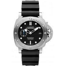 Réplica Panerai Luminor Submersible 1950 3 Days Automatico Acciaio 42mm PAM00682 Reloj