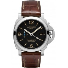 Réplica Panerai Luminor 1950 3 Days GMT Automatico Acciaio 44mm PAM01320 Reloj