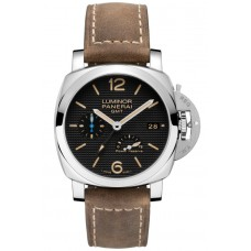 Réplica Panerai Luminor 1950 3 Days GMT Power Reserve Automatico Acciaio 42mm PAM01537 Reloj
