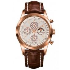 Réplica Breitling Transocean Cronografo QP Rosa oro Reloj