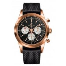 Réplica Breitling Transocean Cronografo Rosa oro Reloj